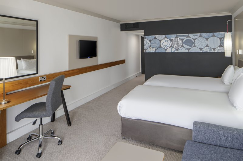 Crowne Plaza Plymouth-Standard Twin Room with Sofa Bed<br/>Image from Leonardo