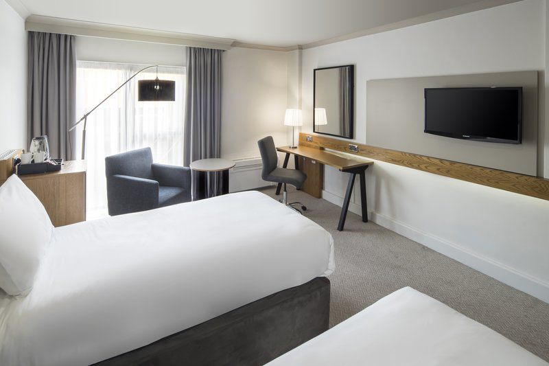 Crowne Plaza Plymouth-Twin Bed Accessible Bedroom<br/>Image from Leonardo