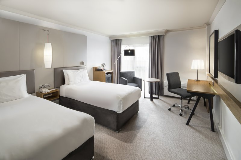 Crowne Plaza Plymouth-Twin Accessible Room<br/>Image from Leonardo