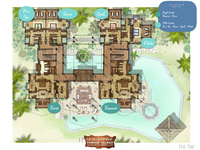 Vahine Island-Layout Villa Royale<br/>Image from Leonardo