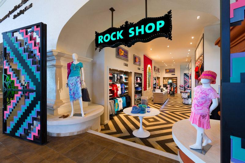Hard Rock Riviera Maya - Family - Rock Shop <br/>Image from Leonardo