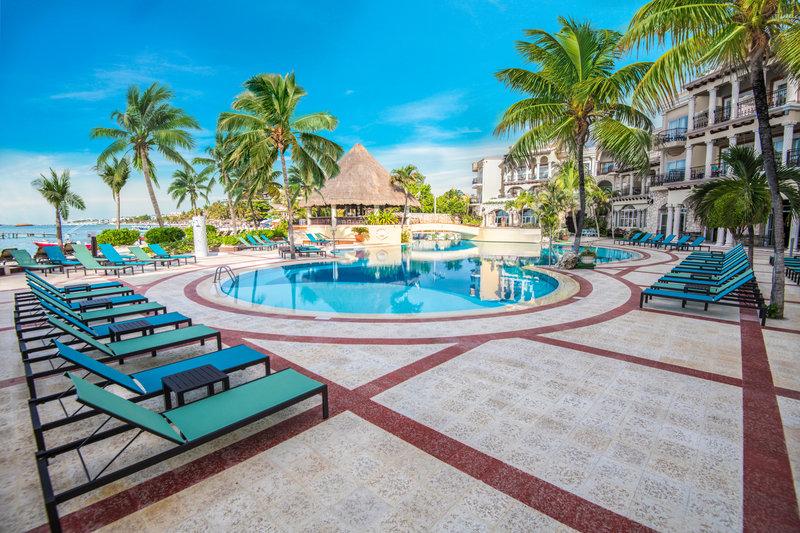 Panama Jack Resorts Playa del Carmen - Panama Jack Resorts Playa Del Carmen Main Pool <br/>Image from Leonardo
