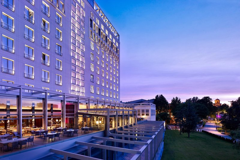 Metropol Palace Belgrade; a Luxury Collection Hotel-Park view<br/>Image from Leonardo