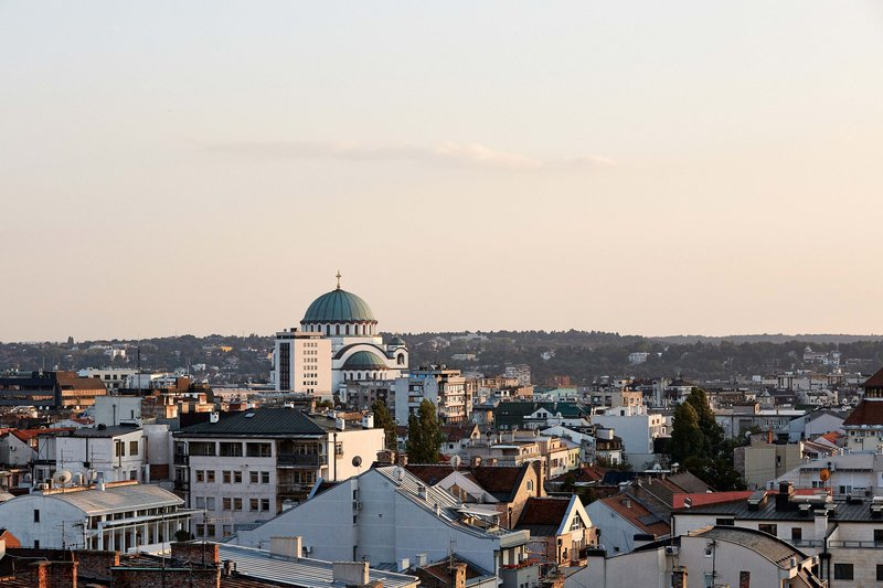 Metropol Palace Belgrade; a Luxury Collection Hotel-City View<br/>Image from Leonardo