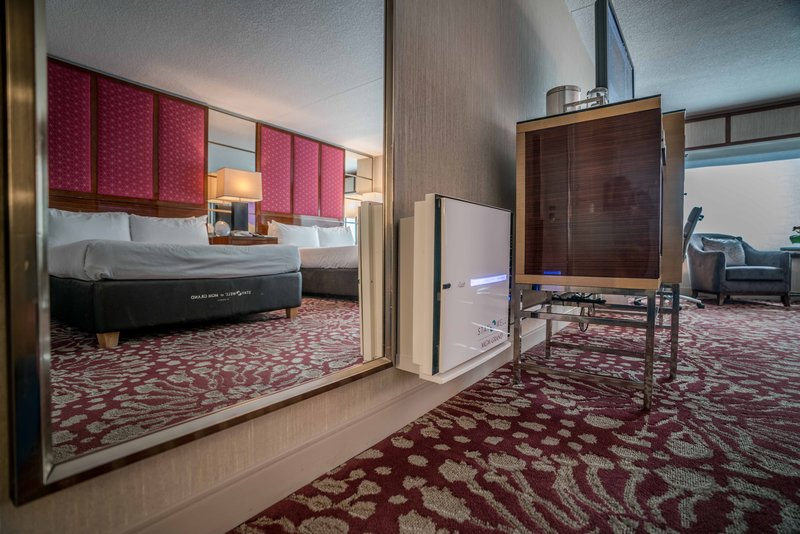 MGM Grand Hotel & Casino - Stay Well Room - Air Purification <br/>Image from Leonardo