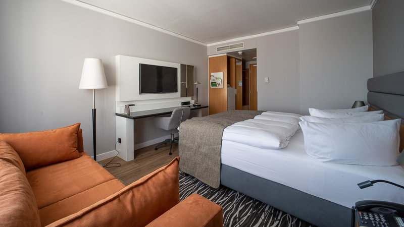 Berlin Airport Conference Centre-Double Bed Guest Room<br/>Image from Leonardo