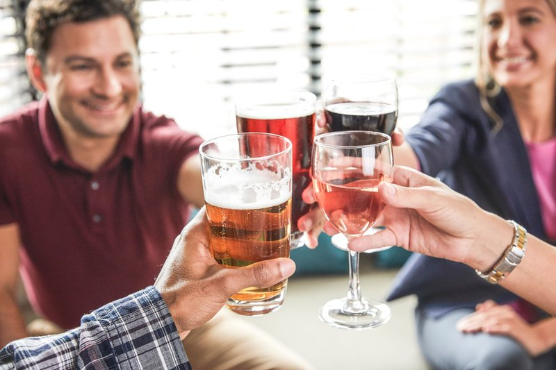 Staybridge Suites South Bend-University Area-Complimentary drinks & appetizers on select nights<br/>Image from Leonardo