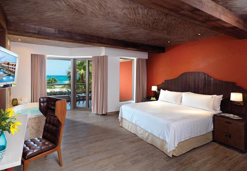 Hard Rock Riviera Maya - Family - HRH Riviera Maya Hacienda Rock Suite Platinum Bedroom <br/>Image from Leonardo