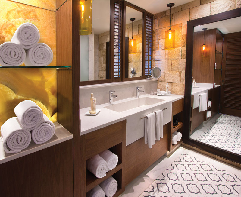 Hard Rock Riviera Maya - Family - HRH Riviera Maya Hacienda Guest Room Bathroom <br/>Image from Leonardo