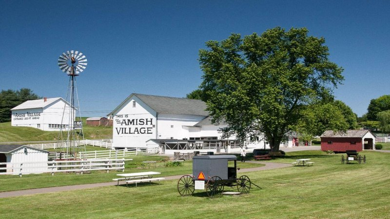 Holiday Inn Morgantown-Reading Area-The Gateway to Amish Country only minutes from our hotel. <br/>Image from Leonardo