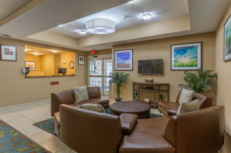 Candlewood Suites South Bend Airport-Hotel Lobby<br/>Image from Leonardo