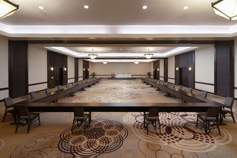 Sheraton Santo Domingo-Gran Salon With Distancing - U-Shape Setup<br/>Image from Leonardo