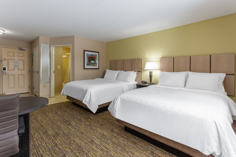 Candlewood Suites South Bend Airport-2 Queen Studio Suite<br/>Image from Leonardo