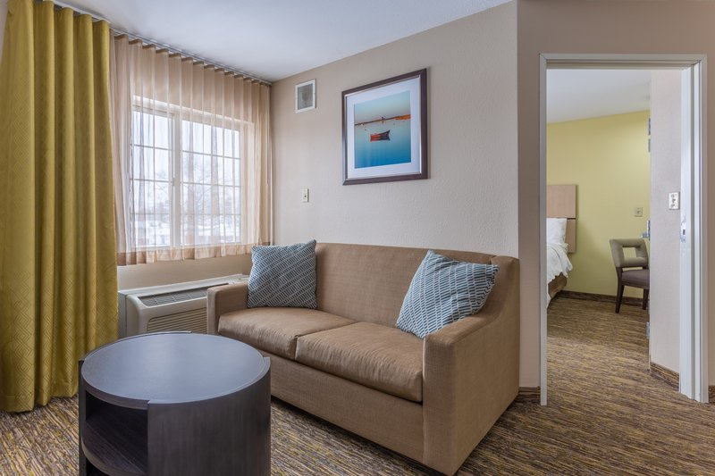 Candlewood Suites South Bend Airport-Single Bed Guest Room<br/>Image from Leonardo
