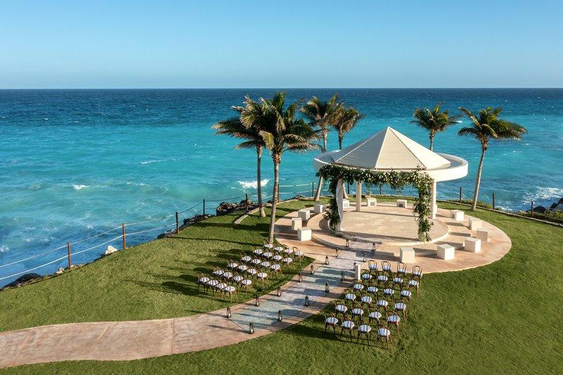 Hyatt Ziva Cancun  - Hyatt Ziva Cancun Wedding Sky Gazebo <br/>Image from Leonardo