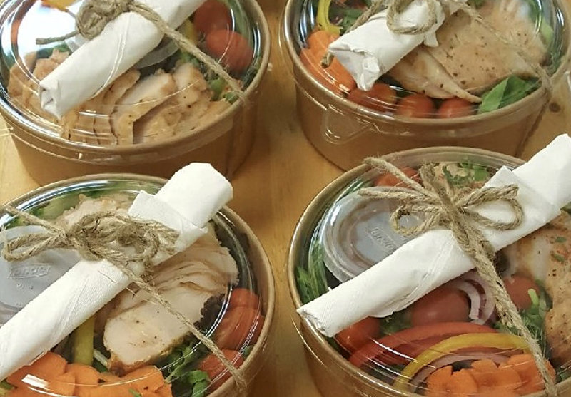 Holiday Inn Saskatoon Downtown-Individually packaged catering options!<br/>Image from Leonardo