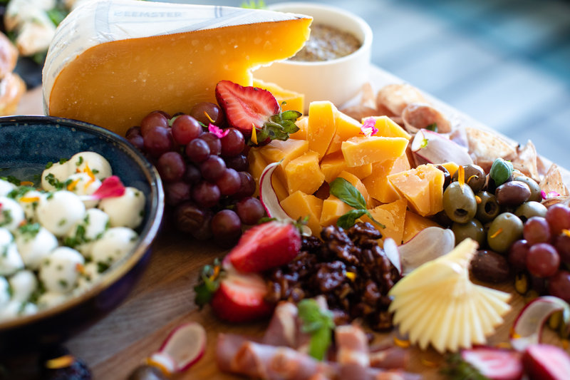Hotel Indigo Seattle Everett Waterfront-Catering Fruit and Cheese<br/>Image from Leonardo