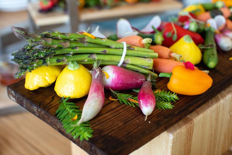 Hotel Indigo Seattle Everett Waterfront-Vegetable Appetizer<br/>Image from Leonardo