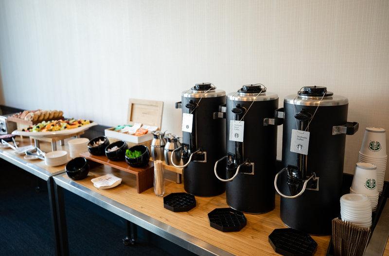 Hotel Indigo Seattle Everett Waterfront-Coffee Station<br/>Image from Leonardo