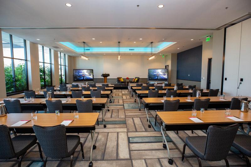 Hotel Indigo Seattle Everett Waterfront-Harbor Ballroom Classroom<br/>Image from Leonardo