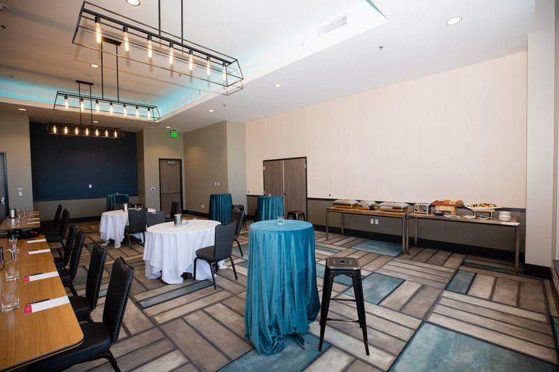 Hotel Indigo Seattle Everett Waterfront-Harbor Ballrooms Banquet Styles<br/>Image from Leonardo