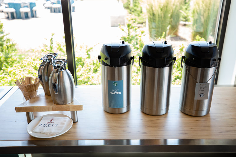 Hotel Indigo Seattle Everett Waterfront-Banquet Catering Coffee Station<br/>Image from Leonardo
