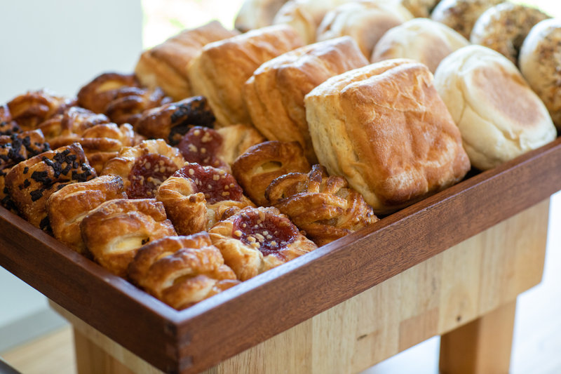 Hotel Indigo Seattle Everett Waterfront-Banquet Breakfast Pastries<br/>Image from Leonardo