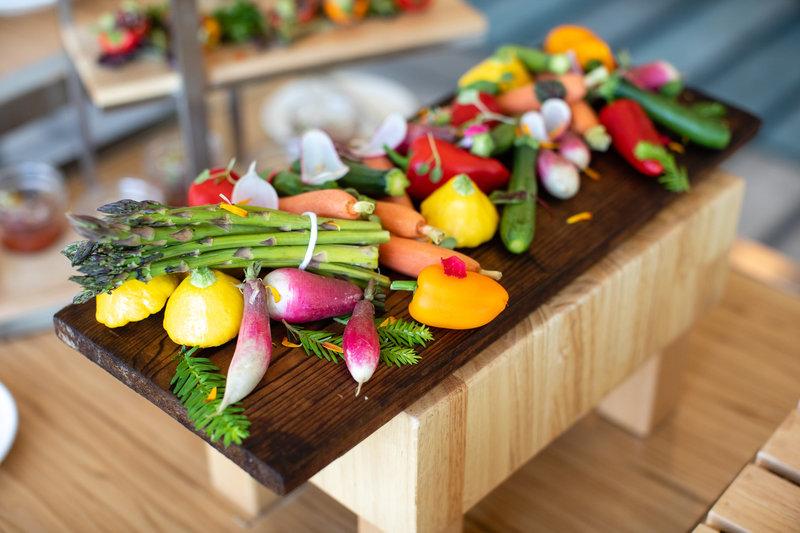 Hotel Indigo Seattle Everett Waterfront-Catering Vegetable Appetizer<br/>Image from Leonardo