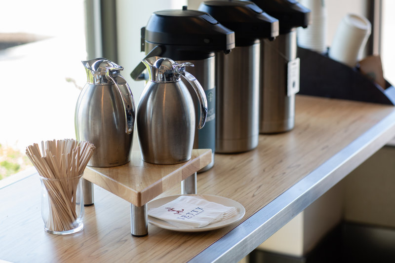 Hotel Indigo Seattle Everett Waterfront-Catering Coffee Station<br/>Image from Leonardo