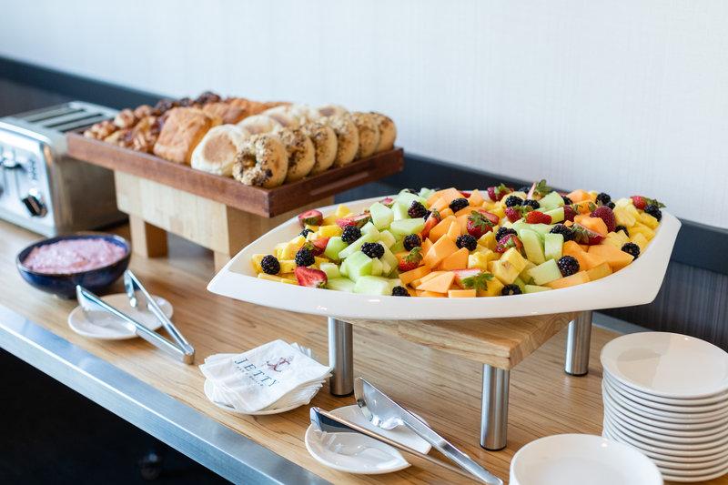 Hotel Indigo Seattle Everett Waterfront-Fruit and Pastries<br/>Image from Leonardo