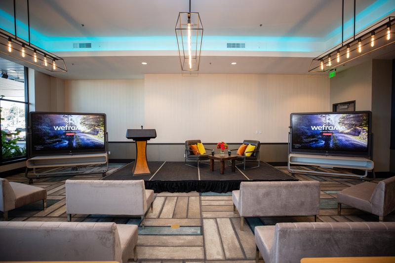 Hotel Indigo Seattle Everett Waterfront-Harbor Ballroom with General Session Soft Seating<br/>Image from Leonardo