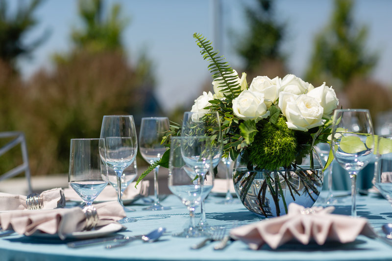 Hotel Indigo Seattle Everett Waterfront-Outdoor reception with a beautiful view.<br/>Image from Leonardo
